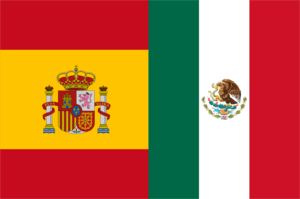Spanish language flags