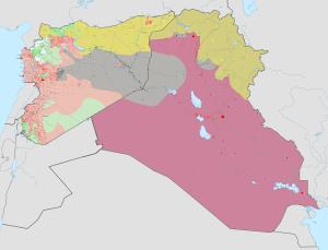 Syrie et l'Irak 2014-en avant map.png guerre