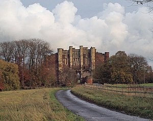 English: The Gatehouse at Thornton Abbey