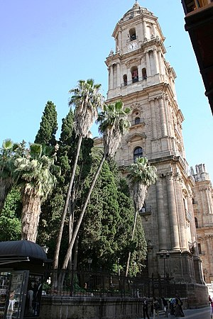English: Malaga Cathedral. Español: Catedral d...