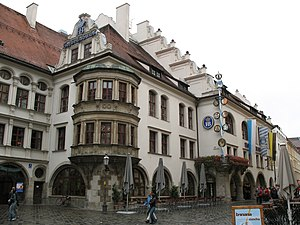 Hofbräuhaus (Yard Brew House), Munich, Germany