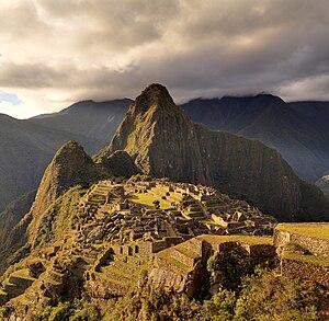 Deutsch: Macchu Picchu, ein UNESCO-Weltkulture...