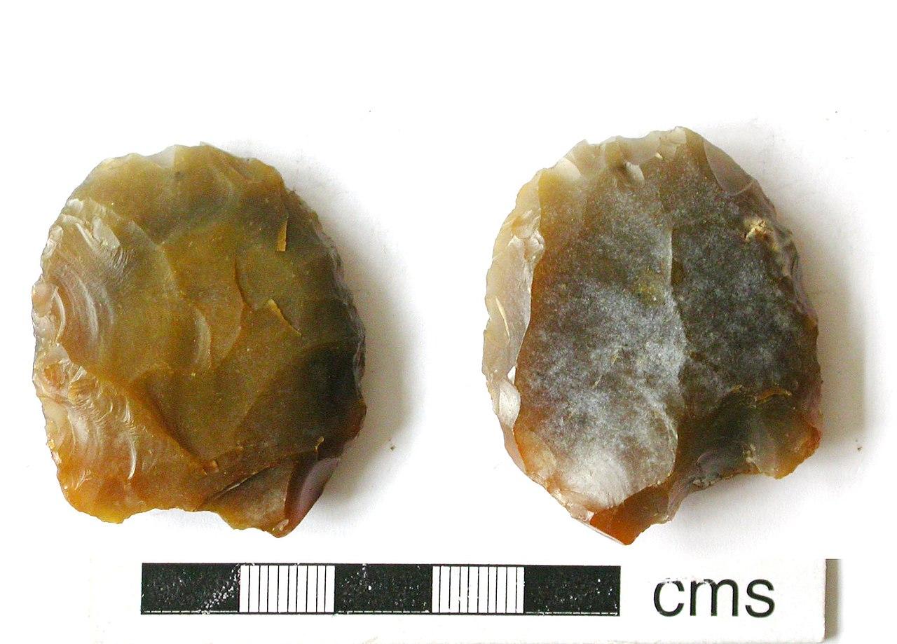File A Knapped Flint Scraper Neolithic In Date Findid