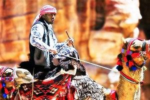 Traditional Bedouin in Southern Jordan (From: www.dmitrimarkine.com)