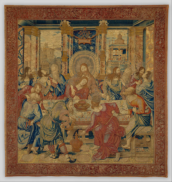 File:Bernard van Orley (Netherlandish, Brussels ca. 1492–1541, 42 Brussels) - The Last Supper - Google Art Project.jpg