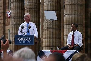 Joe Biden's first speech after the announcemen...