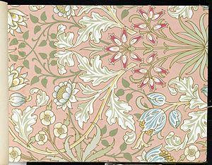 Wallpaper - Hyacinth, pattern #480 - 1915-17