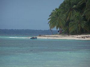 Cayo Zapatillas en Bocas del Toro