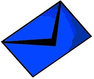 Mail blue