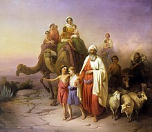 abraham and family # 4