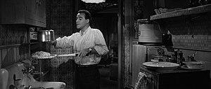 English: Screenshot of Jack Lemmon as C.C. Bax...