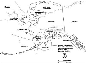 Regional corporations established by the Alask...