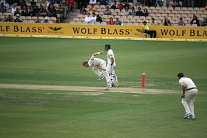 Cricket at Adelaide Oval, South Australia. 2nd...