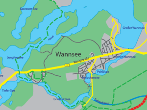 Map of Wannsee