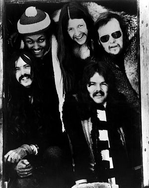 Publicity photo of The Doobie Brothers.