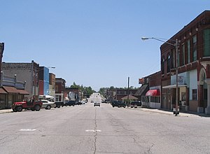 Main Street in Galena KS looking south from 4t...