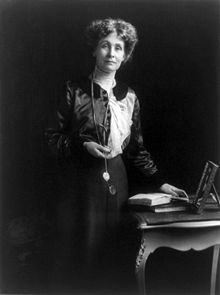 Emmeline Pankhurst from Wikipedia