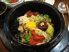 Korean Bibimbap for Hillary for lunch