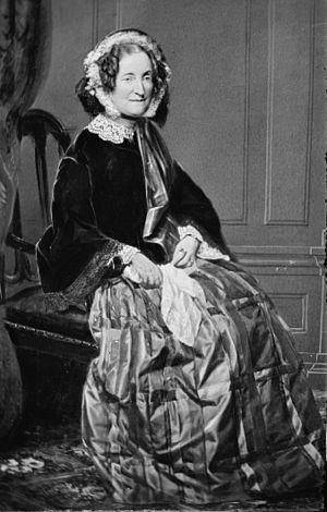 Lydia Sigourney. Library of Congress descripti...