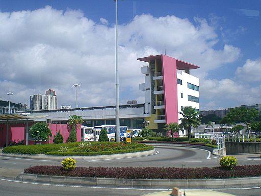Macau Ferry Pier Grand Prix Stand