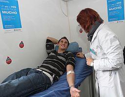 María Eugenia Vidal con la campaña de donación voluntaria de sangre (7396688818)