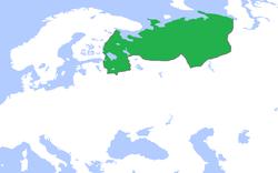 ノヴゴロド公国の位置