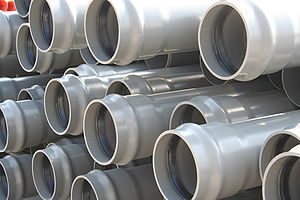 PVC Pressure Pipe Русский: Напорная ПВХ труба