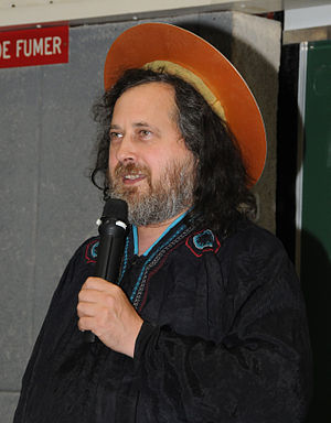 Richard Stallman conference on free software t...