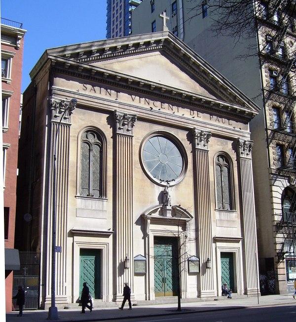 St. Vincent de Paul Church (Manhattan) - Wikipedia