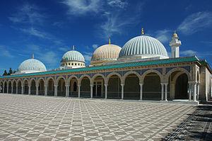 Mausolée Habib Bourguiba à Monastir en Tunisie