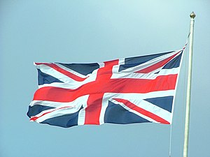 The Flag of the United Kingdom, the right way ...