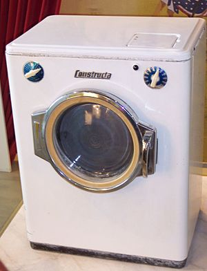 A washing machine.