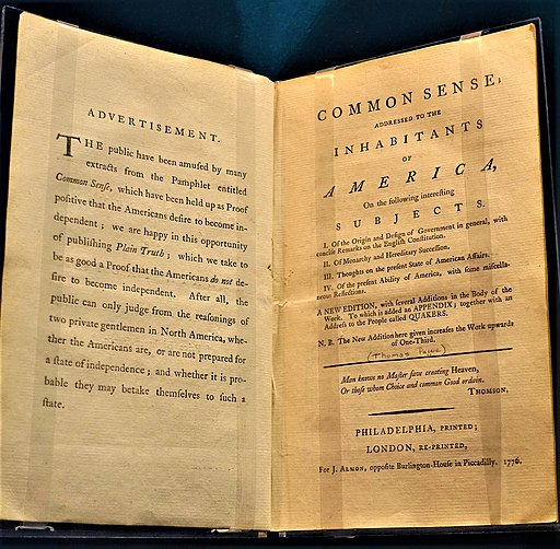 """""""Common Sense"""" by Thomas Paine - Museum of the American Revolution by Joy of Museums"""