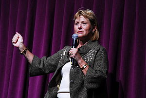 Carol Bartz, American technology executive, cu...