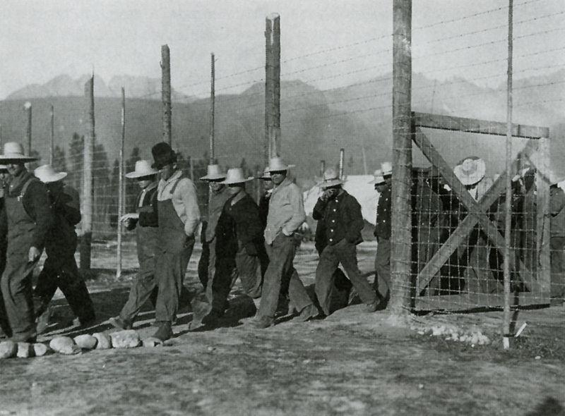 Castle Mountain Internment Camp