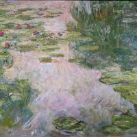 """Water Lilies"" by Claude Monet (Honolulu Museum of Art)"