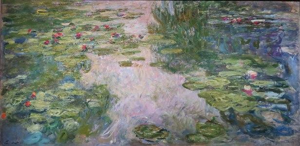 Claude Monet - Water Lilies, 1917-1919