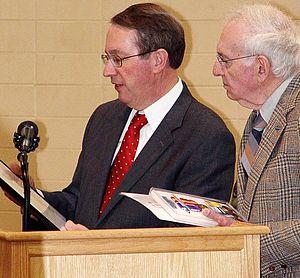 US Congressman Bob Goodlatte presents a ROKWSM...