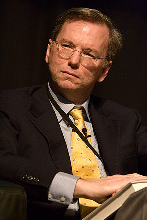 Eric E. Schmidt, Chairman and CEO of Google In...