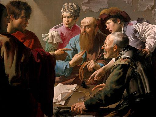 Hendrick ter Brugghen - The calling of Saint Matthew - Google Art Project