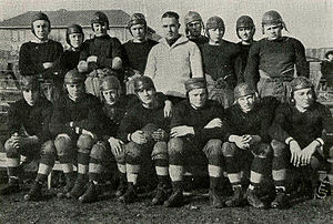 Indiana High School football team, circa 1921