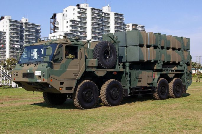 JGSDF Type03 SAM (launcher) 02