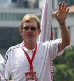 Kenny Dalglish from LFC boat tour @ Singapore ...