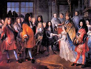 Mariage du Duc de Bourgogne, Louis de France (...