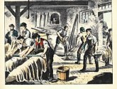 Image of a Tannery business illustrating one of James Hugh Stuart's businesses