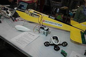 Maker Faire 2008, San Mateo - Lego Mindstorm p...