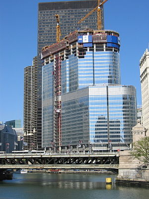 The Trump International Hotel and Tower under ...