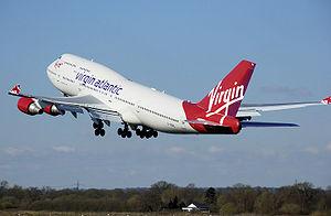 Virgin Atlantic Boeing 747-400 in current (200...