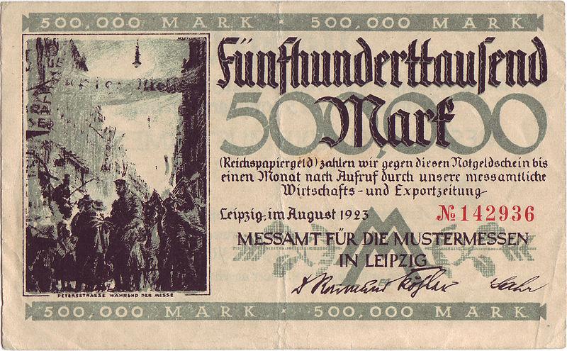 500000 Mark Leipzig 1923 front.jpg