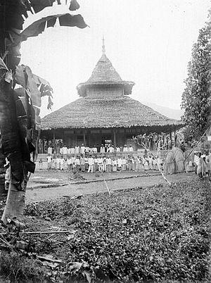 Mosque at Kaitetu